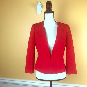 The Limited Red Career Blazer Sz S